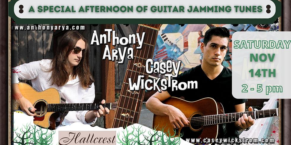 Anthony Arya & Casey Wickstrom - Live at Hallcrest Vineyards