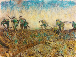 Scene from the Battle of the Somme