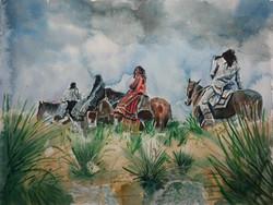 Four Apaches