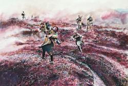 WWI Battle Scene