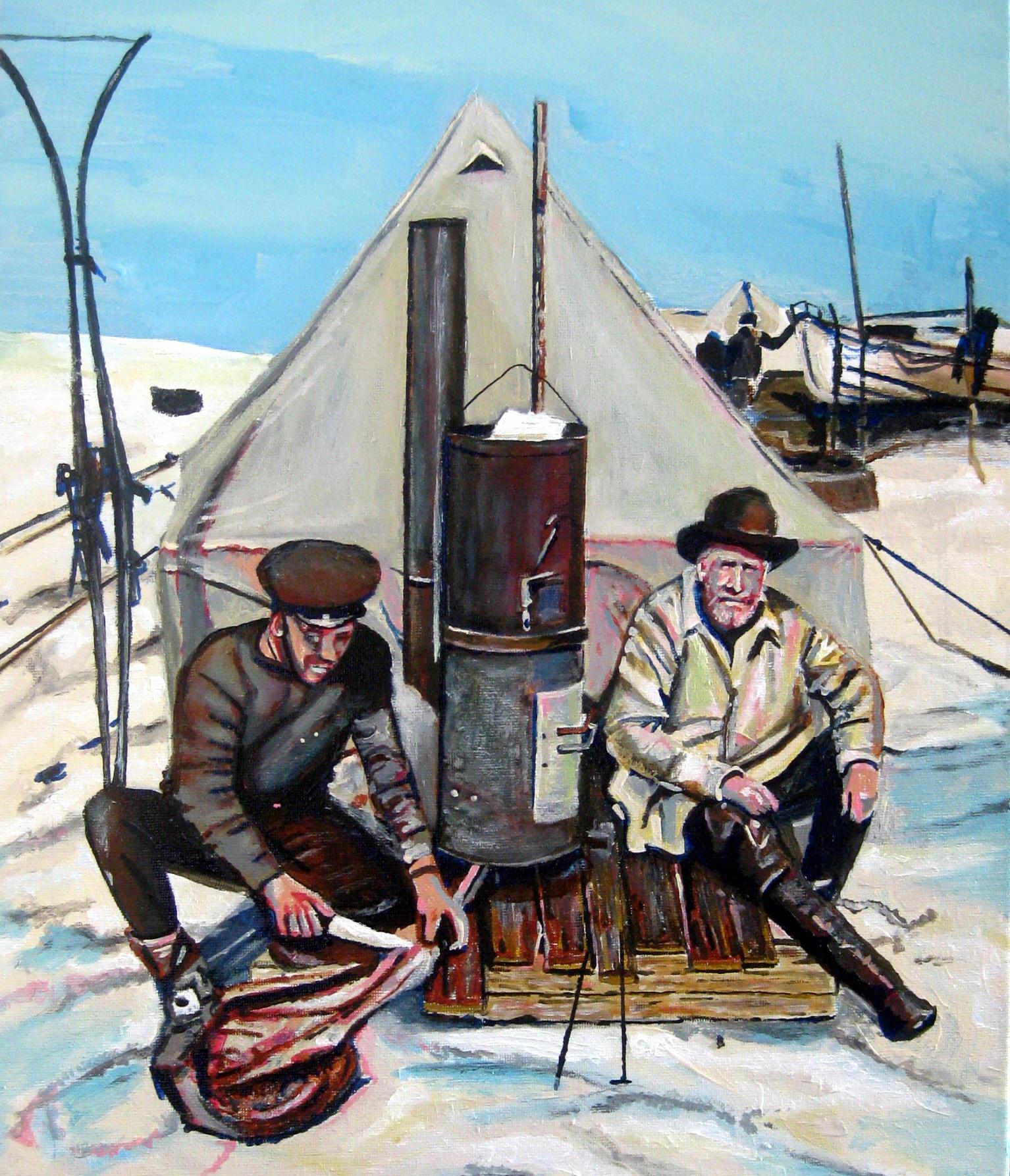 Shackleton and Hurley