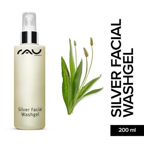 RAU Silver Facial Washgel 200 ml - Gesichtsreinigung mit Microsilber & Spitzwege