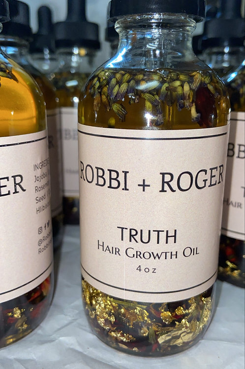 4 oz   Truth!!!!   Hair Growth Oil