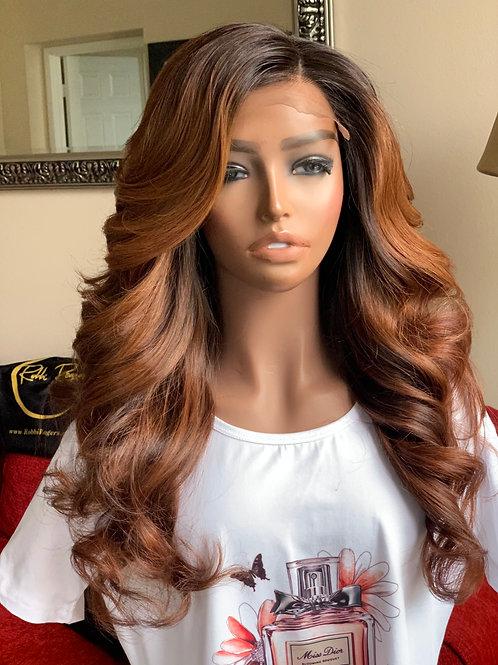 "18"" Auburn Goddess ( Robbi Wig) ( Custom Made)"