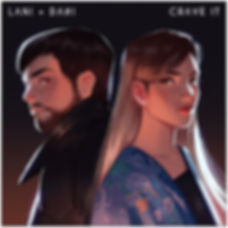 Crave it _ Lani + Dani cover art with bo
