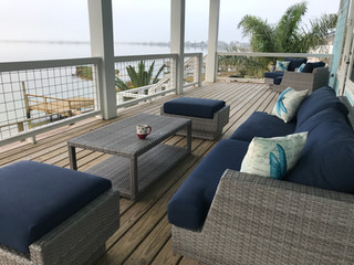 Large outdoor living space