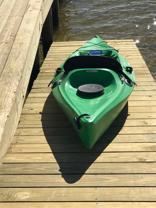 easy in and out kayak launch