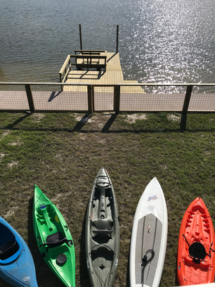 house to kayak launch