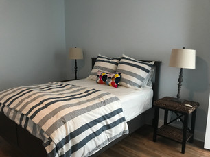 2nd and third queen bedrooms