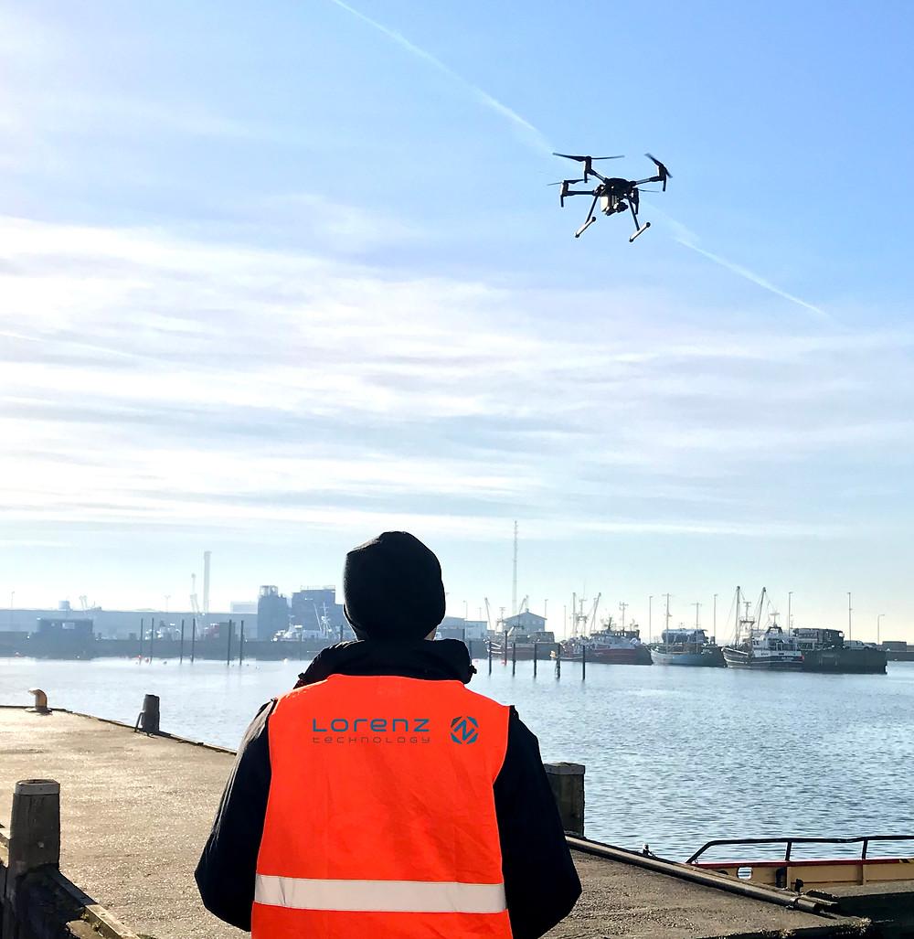 Lorenz technology drone pilot