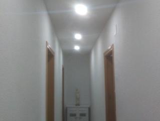 Cambia la luz, pon techos de pladur, pintura, Cambio glaciar,Claridad abismal