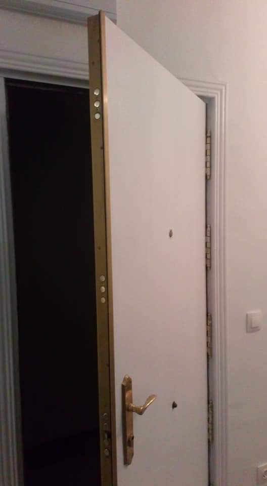 Puertas Blindadas Instaladas Pintura Alb
