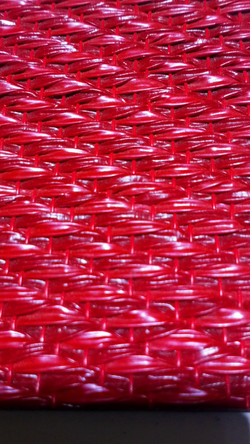 Vinilo Rojo Trenzado