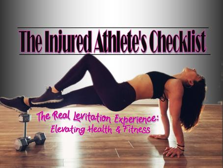 The Injured Athlete's Checklist