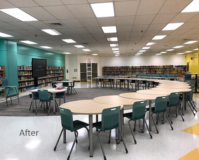 School Renovation After