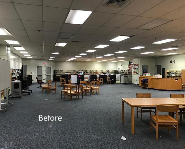 School Renovation Before
