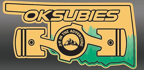 Oklahoma Subies - Go Gold!