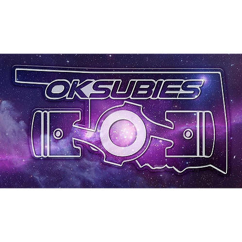 OKSubies - Purple Galaxy Canvas Art