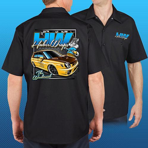 "Huber Wraps ""The Worktruck"" Dickies Shirt"