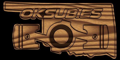 Oklahoma Subies - Woodgrain