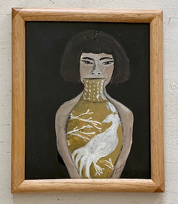 Girl with the Pheasant Vase