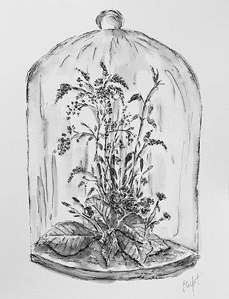 Fleurs en Cloche