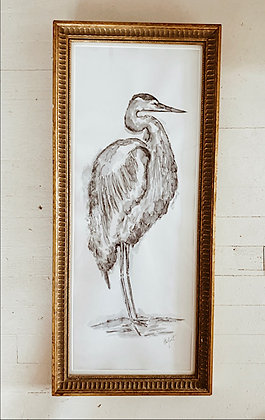 The Painted Heron No.2