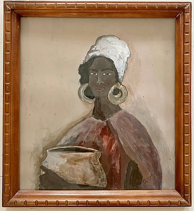 Woman at the White Nile
