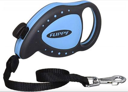 Laisse rectratable (Flippy mini bleu)
