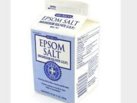 エプソムソルト