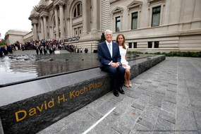 Metropolitan Museum of Art's David H. Koch Plaza