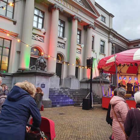 Stadhuis in Dordrecht op 13 dec.