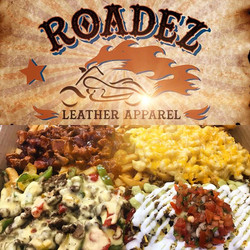 GRAND OPENING !!! Today from 12pm-4pm come on over to Roadez Leather Apparel located right next to c