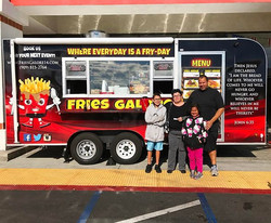 Welcome to our family guys !!! I hope you enjoyed our fries ☺️ #friesgalore #fries #blessed #foodtru