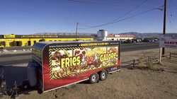 Hello Fry Family !!! Who is ready for dinner !!! __Tonight from 6pm-9pm we are here on Hesperia road