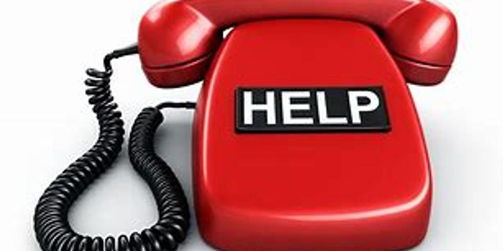 1.833.ExFelon 24 Hour Mentoring Helpline