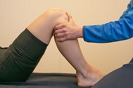 Knie Mobilisatie FysioMove Velserbroek praktijk voor Fysiotherapie Orthopedisch revalidatie