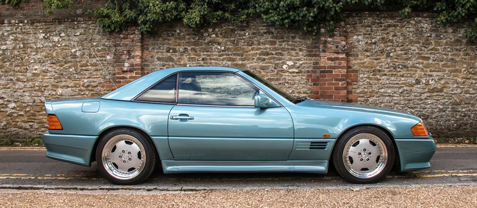 Fit For a Sultan: 1992 500SL 6.0 AMG