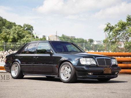 The MB Market Exclusive First Look: 1994 E60 AMG Limited
