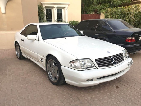 The MB Market Exclusive: 1997 SL70 AMG