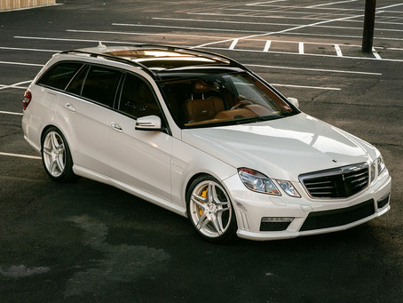 Beauty and Braun in One: 2012 E63 Wagon from AMG's Performance Studio