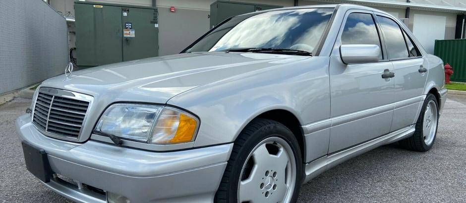Autobahn Bruiser: 1-Owner 1999 C43 AMG