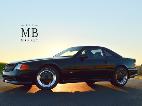 From The MB Market Stable: 50k-mile 1995 SL600 AMG