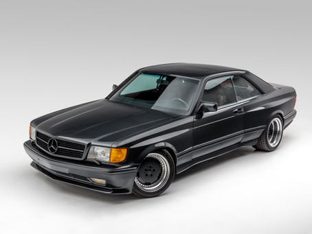 Upcoming Auction Alert: 1989 560SEC Restomod AMG Widebody