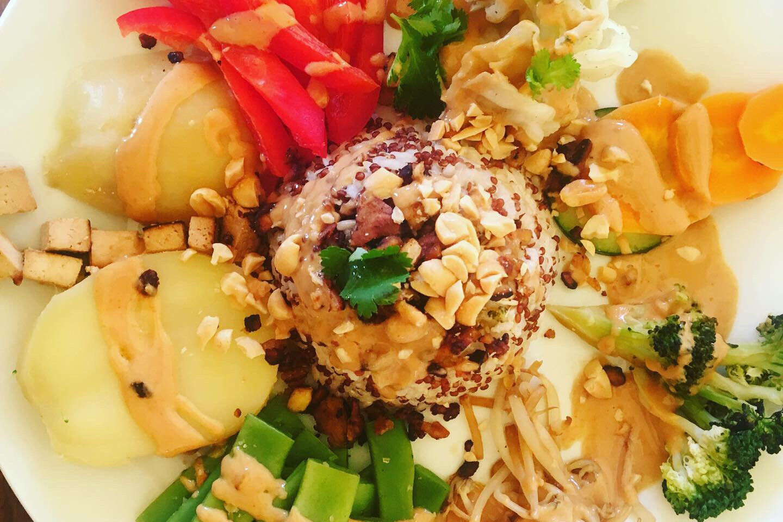 Gado-Gado, our favorite dish from Bali