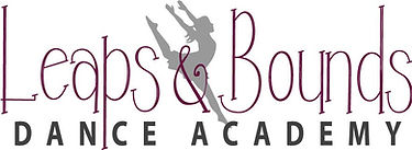 Leaps and Bounds Dance Academy long logo