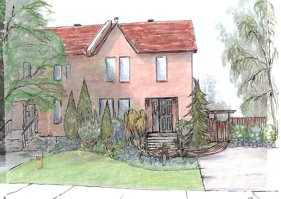 NaturEden Création de plan aménagement paysager extérieur