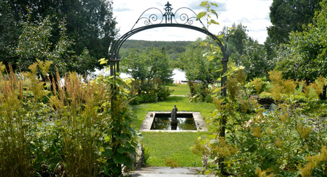 Historical Garden, chemin Centre, West-Brome