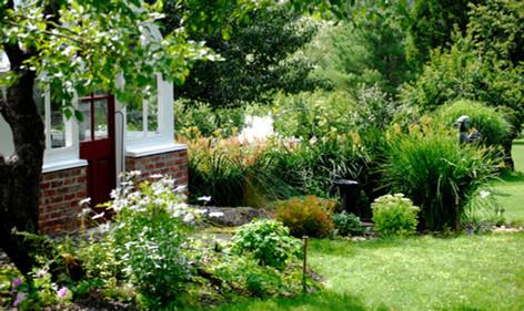 Jardin historique, chemin Centre, West-Brome