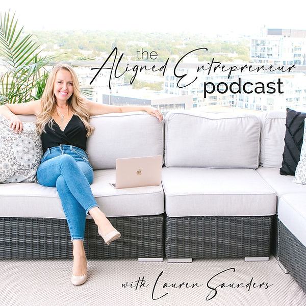 The Aligned Entrepreneur Podcast Thumbna